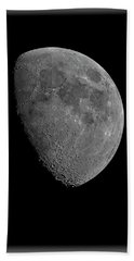 Beach Towel featuring the photograph Moon 67 Percent Fr23 by Mark Myhaver