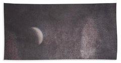 Moon And Friends Beach Towel