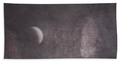 Moon And Friends Beach Towel