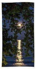 Moon Curtain Beach Towel