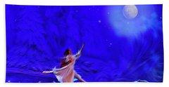 Moon Dance Beach Towel