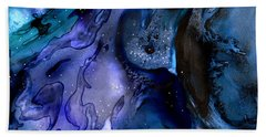 Moon Eater Dragon Lunar Eclipse Beach Sheet