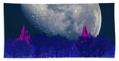 Moon Forest Beach Towel