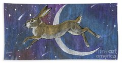 Moon Hare 2018 08 01 Beach Towel