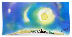 Moon Light Beach Towel