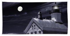 Beach Towel featuring the photograph Moon Light by Robin-Lee Vieira