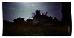 Moon Over Nice Beach Sheet
