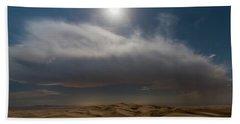 Moon Sparkle Beach Towel