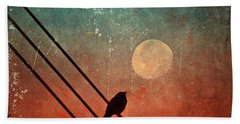 Moon Talk Beach Towel
