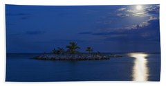 Moonlight Island Beach Towel