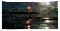Moonlight Reflections 2 Beach Towel by Dan Myers