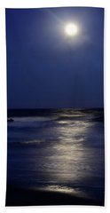 Moonlight Reflections Beach Towel by Dan Myers