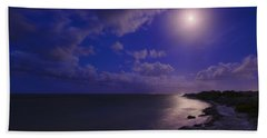Moonlight Sonata Beach Towel