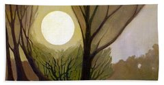 Moonlit Dream Beach Towel