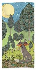 Moonlit Meadow Beach Sheet