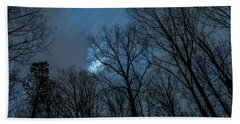 Moonlit Sky Beach Towel