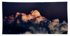 Moonrise In Taos Beach Sheet