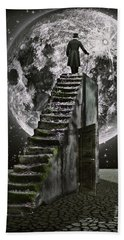 Moonrise Beach Towel by Mihaela Pater