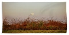 Moonscape Evening Shades Beach Towel