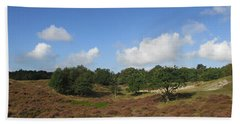 Moorland In The Noordhollandse Duinreservaat Beach Towel