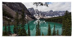 Moraine Lake Beach Towel