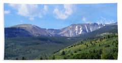 More Montana Mountains Beach Sheet