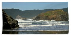 Beach Sheet featuring the photograph More Than A Wave by Marie Neder