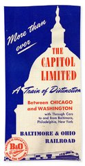 More Than Ever, The Capitol Limited Beach Towel