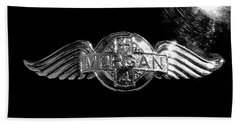 Morgan Nameplate Beach Towel