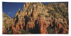 Mormon Canyon Details Beach Towel