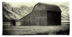 Mormon Row Barn No 1 Beach Towel