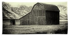 Mormon Row Barn No 1 Beach Sheet