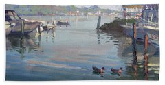Morning At The Shores Beach Towel