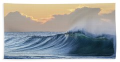 Morning Breaks Beach Towel by Az Jackson