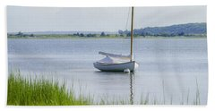 Morning Calm Beach Towel by Keith Armstrong