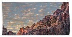 Morning Clouds Beach Sheet