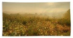 Morning Dew At Kendall Hills  Beach Sheet