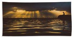 Morning Dip Beach Towel