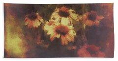 Morning Fire - Fierce Flower Beauty Beach Towel