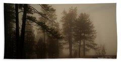 Morning Fog Beach Towel