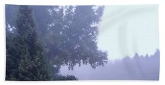 Morning Fog Beach Towel