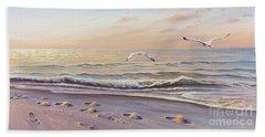 Morning Glisten Beach Towel