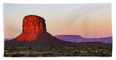 Morning Glory In Monument Valley Beach Sheet