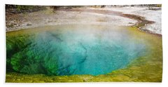 Morning Glory Pool Yellowstone National Park Beach Towel