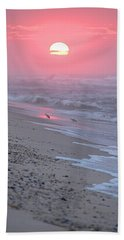 Beach Towel featuring the photograph Morning Haze by  Newwwman