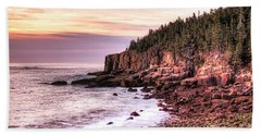 Morning In Acadia Beach Towel