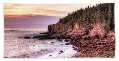 Morning In Acadia Beach Sheet