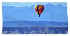 Beach Towel featuring the photograph Morning In Montana by C Sitton