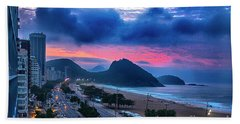 Morning In Rio Beach Towel