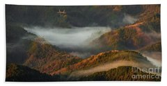 Beach Towel featuring the photograph Morning Light by Tatsuya Atarashi